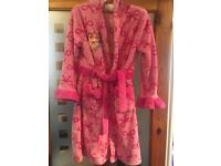 Disney Store girls princess dressing gown age 9/10