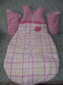 sleeping bag, bacteriostatic, 100 cotton, 92 cm long