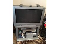 26IN PANASONIC TV, DVD AND VIDEO PLAYERS