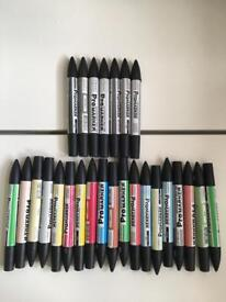 29 ProMarker Twin Tip Perminant Markers