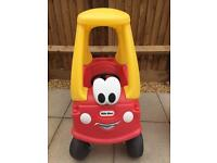 Little Tikes crazy coupe red