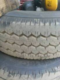Iveco daily tyres and rims. 205/70/15C, Top condition