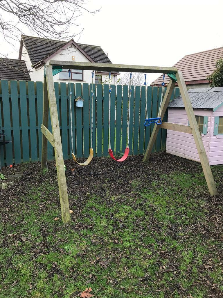 Jungle Gym Swing Play Set