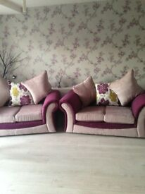 2 x 2 seater sofa for sell