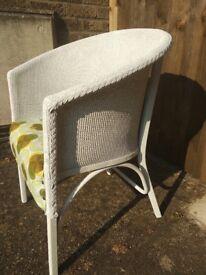 vintage lloyd loom style chair