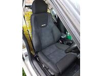 Vectra GSi Recaro seats (full set) low mileage - C20LET Corsa Astra SRi GSi turbo not VXR