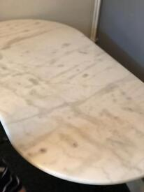 Marble top table 07986962270