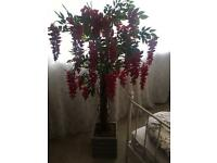 LARGE ARTIFICIAL PINK PLANT