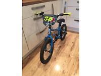 Boys 16inch BMX style bike