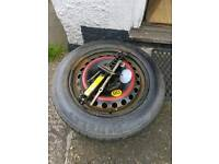 Spare wheel for mondeo