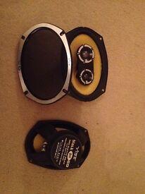 Vibe black air69 stereo speakers