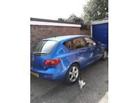 Mazda 3- 115000 mls-mot Sept but never failed,just serviced,new tyres. must sell, hand op'