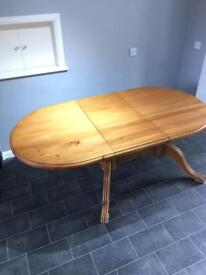 Solid Pine Extendable Table (no chairs)