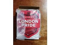 London Pride 3D Metal Pump Clip