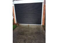 Garage roller shutter eletric