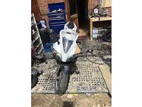 Yamaha yzfr125 breaking