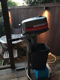 Mariner 4hp outboard short shaft