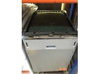 New Bush Integrated 44cm Slimline Dishwasher