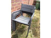 FREE - 10 Garden chairs