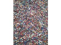 Multi colour floor rug - stunning!