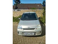 Daihatsu Charde 1.0 5 Door hatch £30 Road Tax