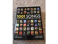 1001 songs to hear before you die