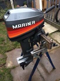 Mariner 6hp outboard engine