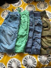BUNDLE 7 BOYS CLOTHES - SHORTS AND SHIRTS - AGE 8 – NEXT, H&M, PRIMARK, TU