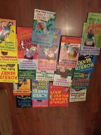 Horrid Henry books - 22 books