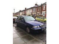 W reg Rover, 7 months MOT, metallic blue, 1.4litre