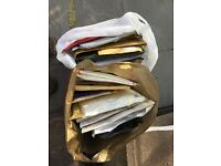 Two carrier bags full of used plastic & padded envelopes - all in good condition