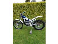 Scorpa 280cc trials bike