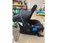 Sivercross carseat and isofix