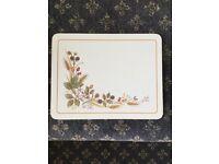 Vintage M&S table mats - Harvest Design