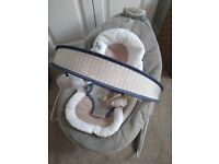 Like new Mothercare automatic ingenuity smart bounce bouncer grey
