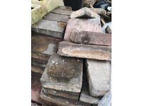 Free patio Bricks (approx 200) for collection