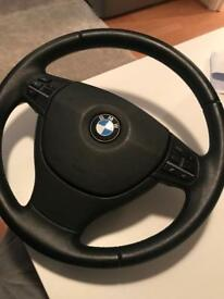 Bmw f11 steering wheel