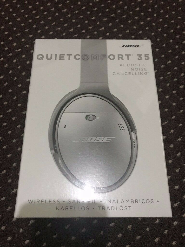 Bose Quietcomfort 35 Sealed!