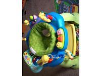 Baby jumperoo activity