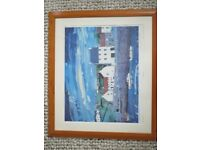 'Crail Harbour' limited edition print