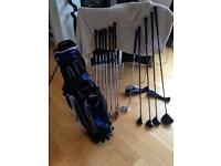 Full set + bag Ben Sayers very nice condition