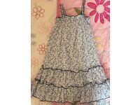 Girls summer dress. Age 7-8