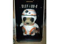 Starwars limited edition Oleg as BB-8 meerkat toy