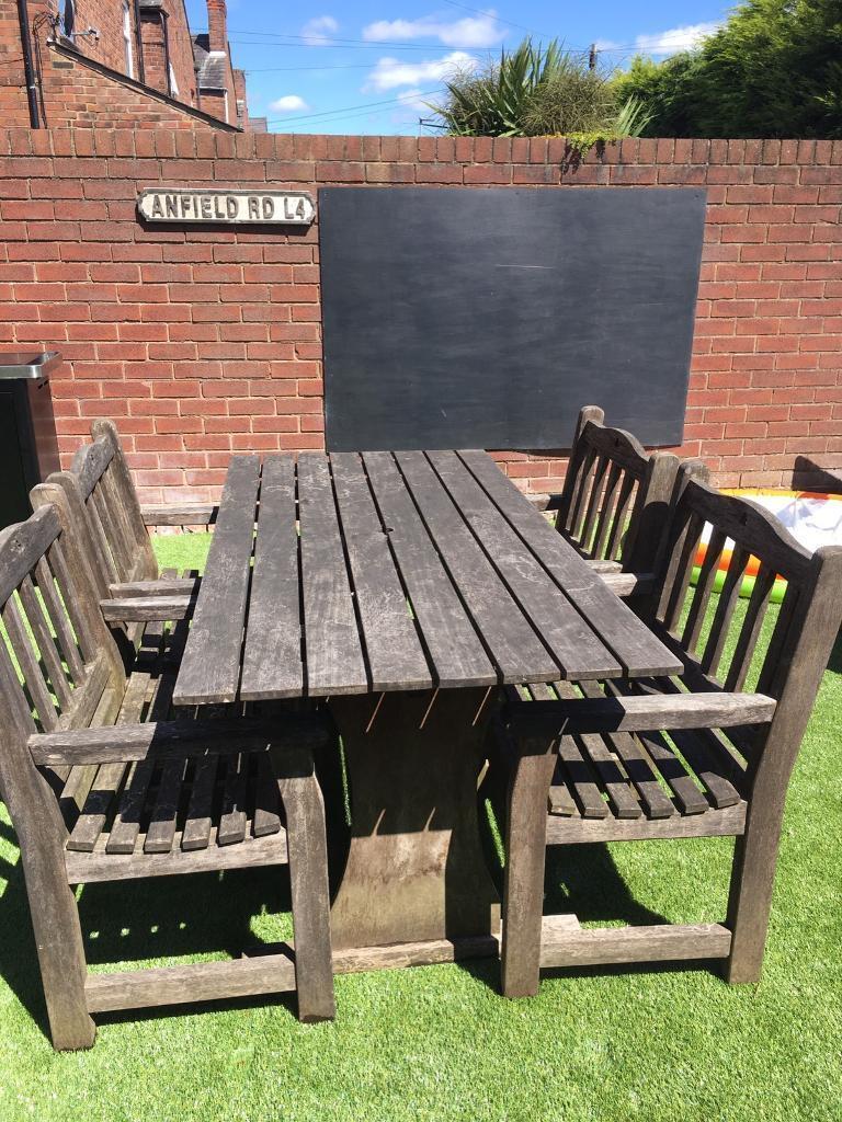 Garden Furniture Cheshire Solid teak garden furniture in warrington cheshire gumtree solid teak garden furniture workwithnaturefo