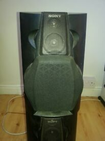 Sony SS-L80, 6ohm, 100watt Speakers