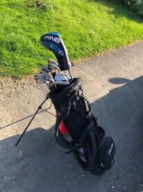Ping G15 golf Clibs with updated Ping Driver and 58 Vokey Wedge