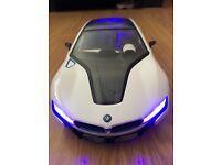 Official BMW i8 radio control car 1/14 scale batteries included
