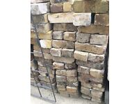 Old - reclaimed stocks bricks for sale. 300+, some half's. All ready to be collected.