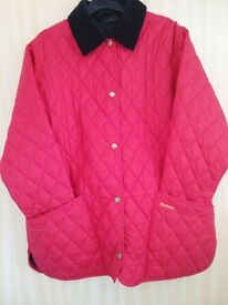 Red Barbour jacket for sale