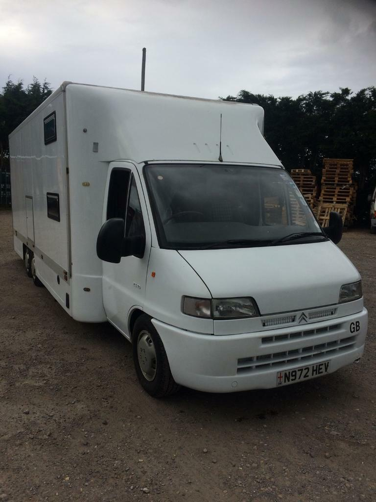Citroen Relay 1400d Fame Commercials Luton Body Car Bike Transporter Switch Halfords Camper Van Catering Moto
